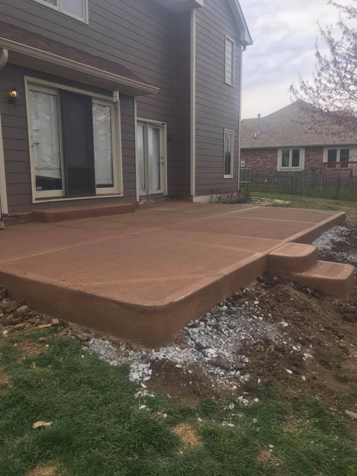 Miwlaukee WI stamped concrete contractor